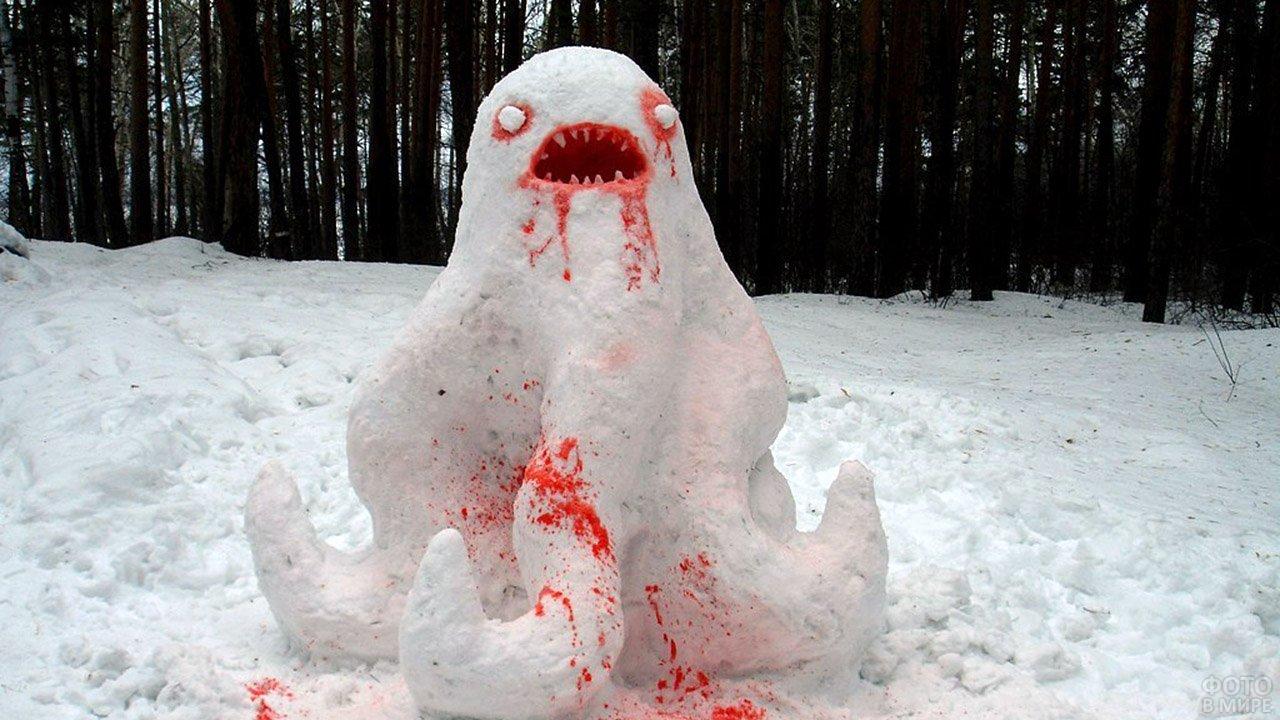 Снеговик-ктулху