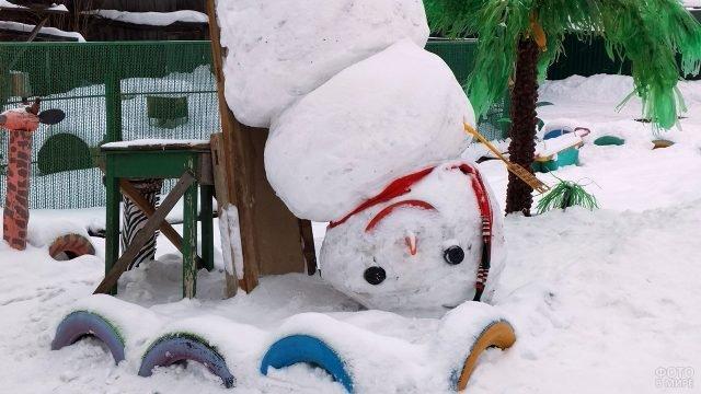 Снеговик наоборот