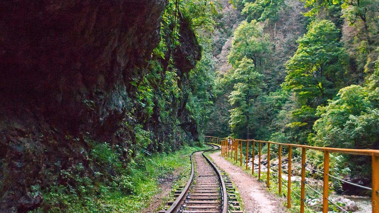 Туристический маршрут в Гуамском ущелье
