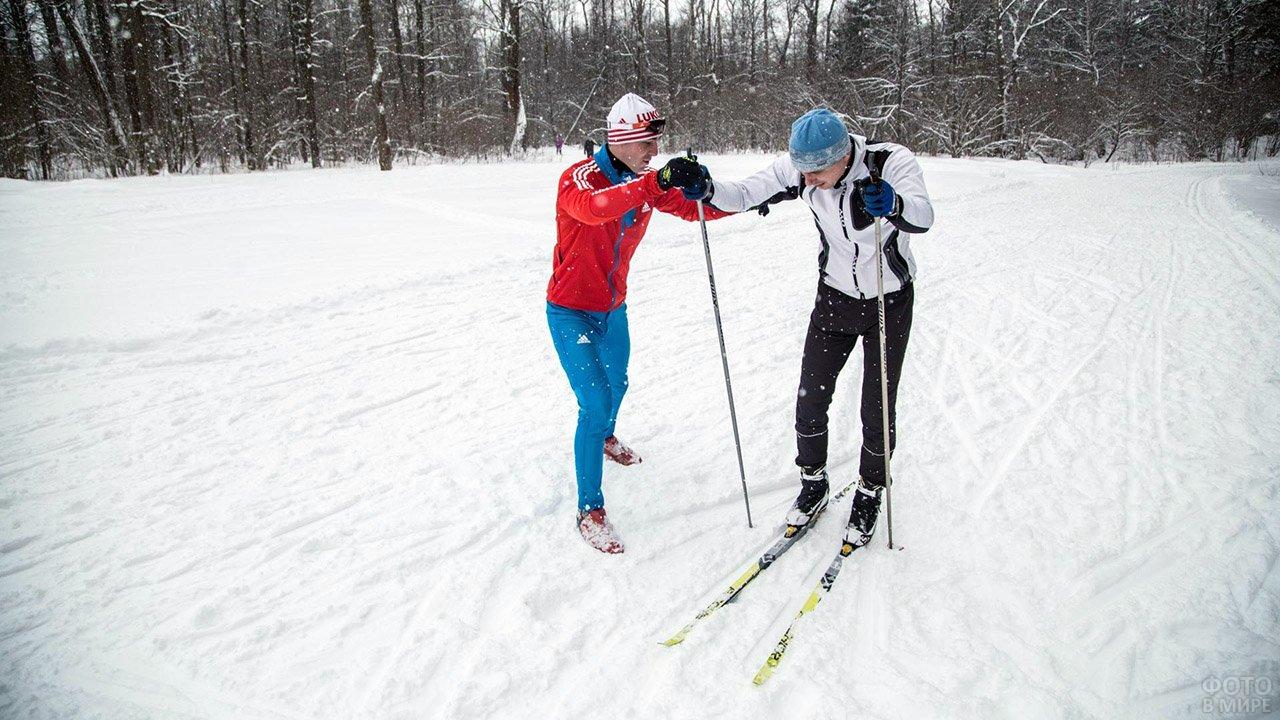 Персональная тренировка на беговых лыжах