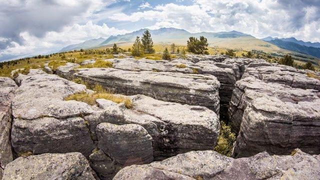 Каменный лабиринт Худес
