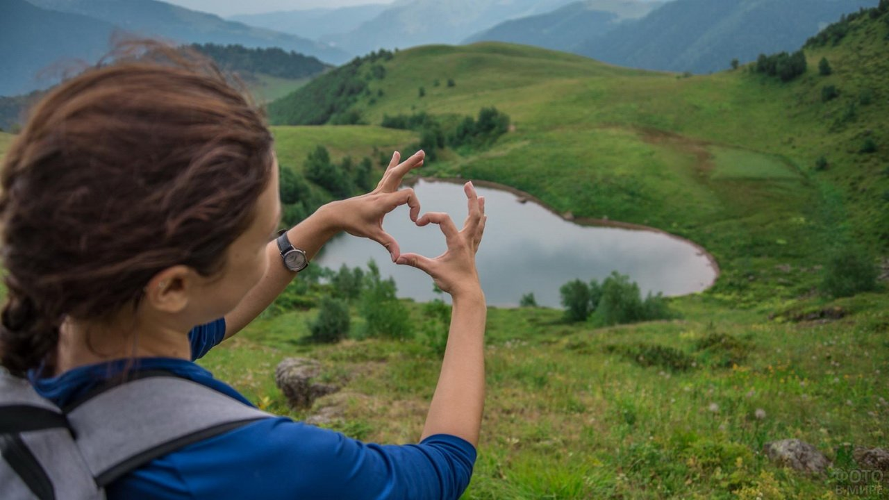 Озеро любви Архыз