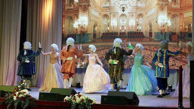 Концерт в честь 8 марта в администрации Южносахалинска