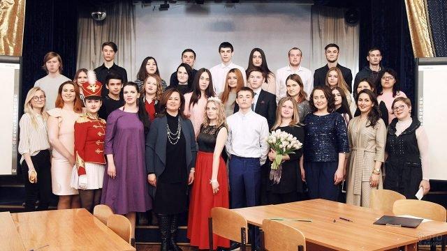 Празднование 8 марта в Башкирском ВУЗе