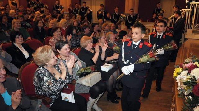 Торжественное празднование 8 Марта в Самарском академическом театре