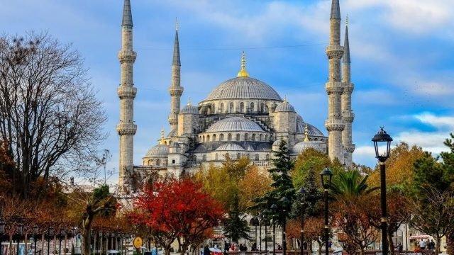 Главная мечеть в Стамбуле