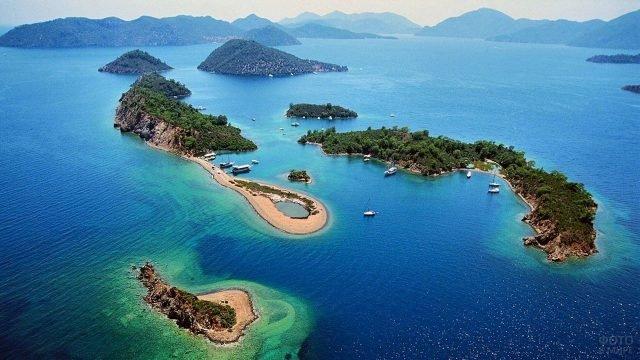 Острова Фетхие в Турции