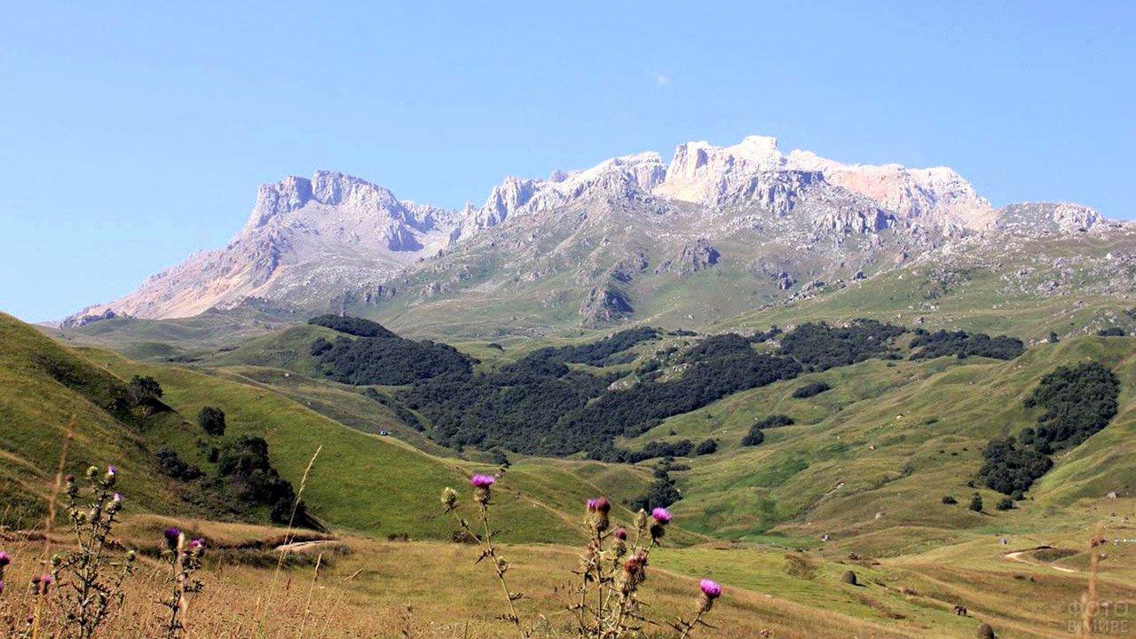 Гора Шальбуздаг в Дагестане