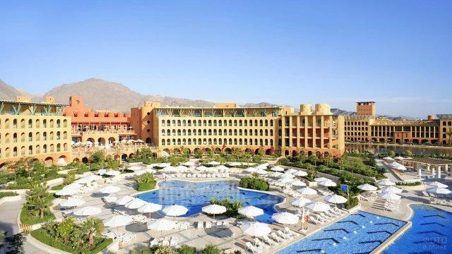 Гостиничный комплекс в курорте Таба