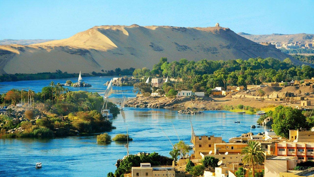 Мини-отели и виллы на берегах Нила