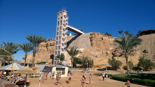 Необычный отель на пляже Шарм-Эль-Шейха