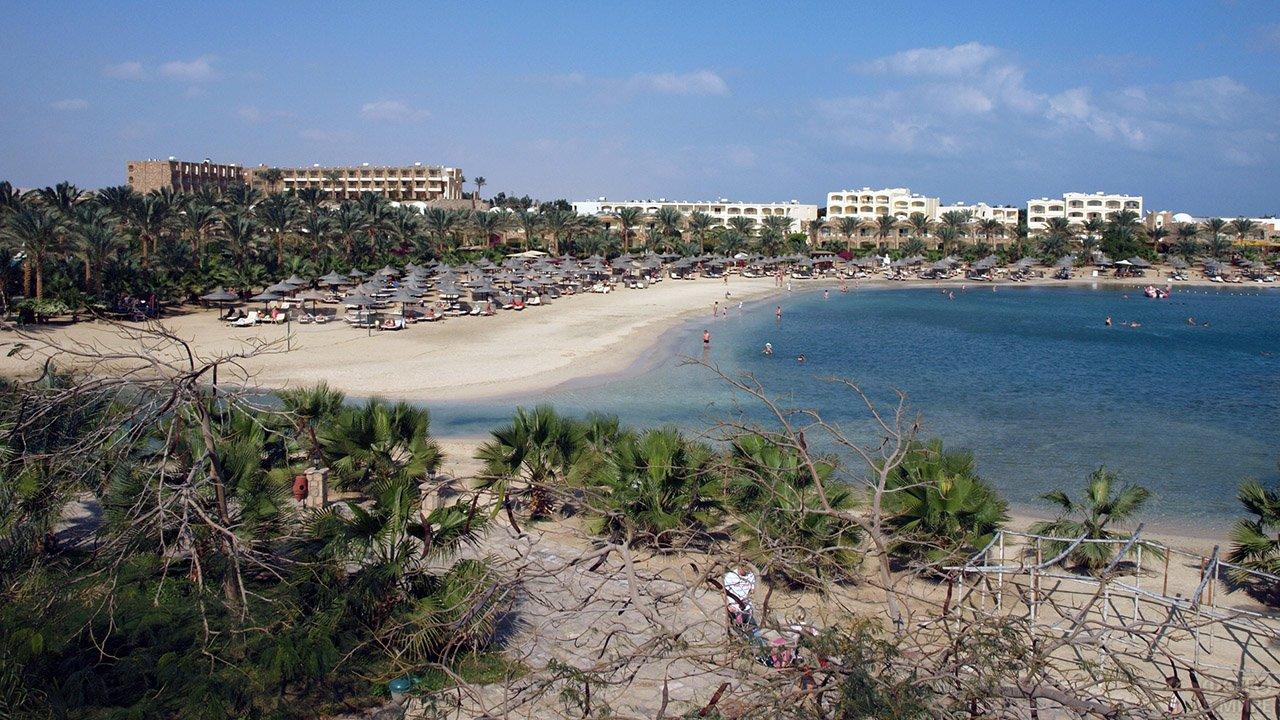 Отели на побережье в курорте Марса-эль-Алам