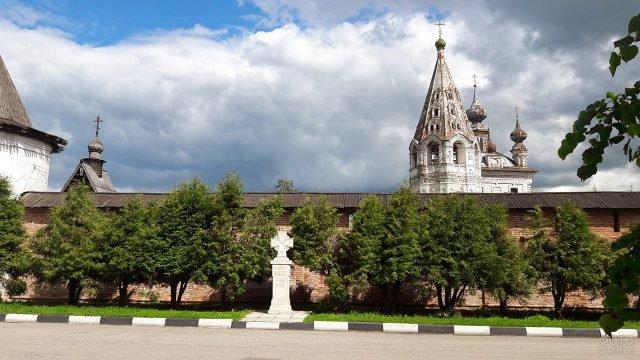 Церковь в городе Юрьев-Польский Владимирской области