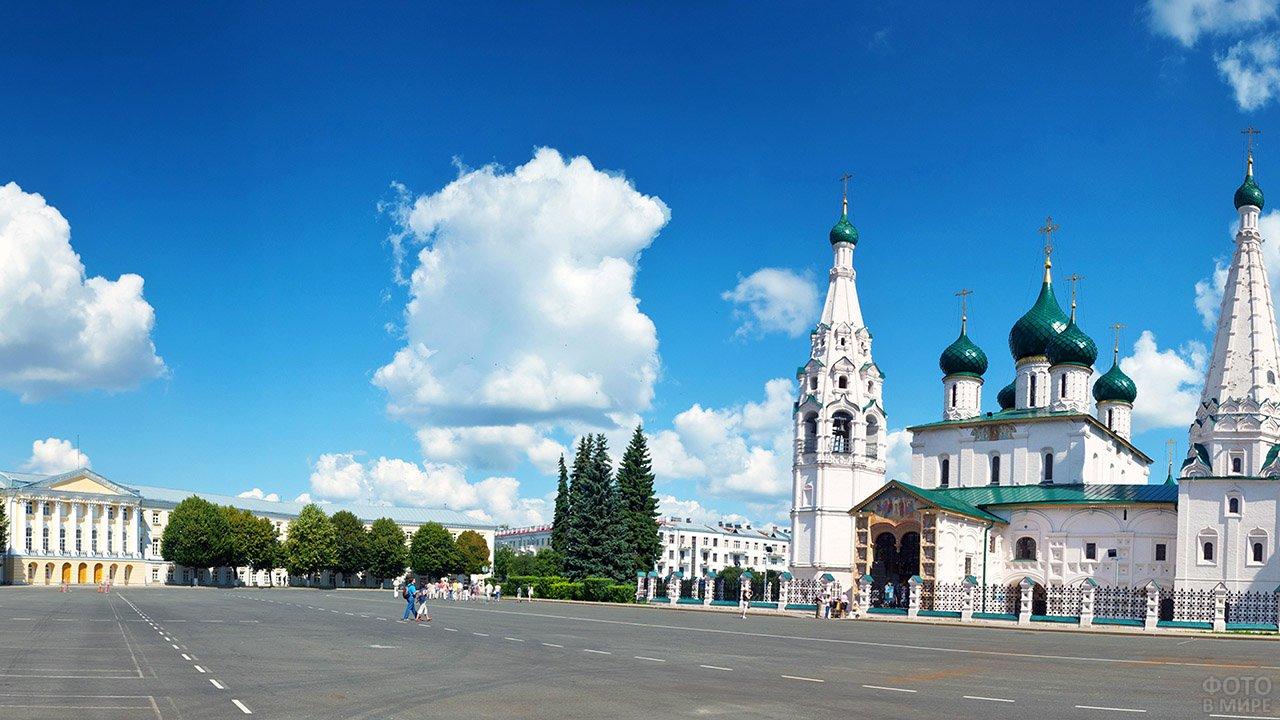 Храм Ильи-пророка в Ярославле