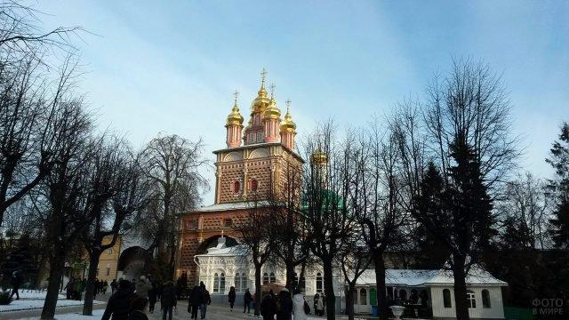 Надвратная Церковь Рождества Иоанна Предтечи в Сергиевом Посаде