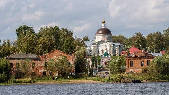 Никольский собор в городе Мышкин
