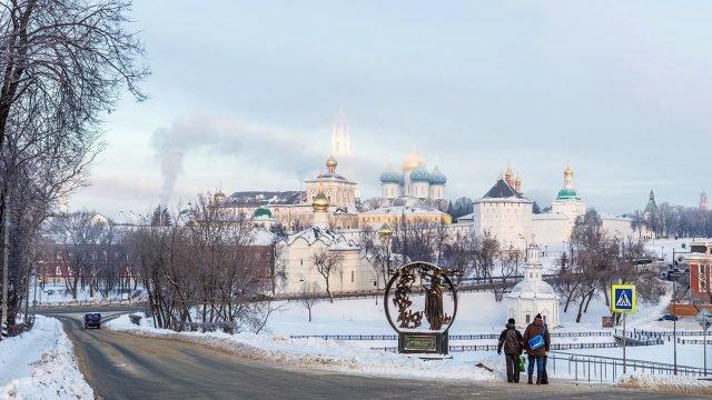 Смотровая площадка Блинная гора в Сергиевом Посаде