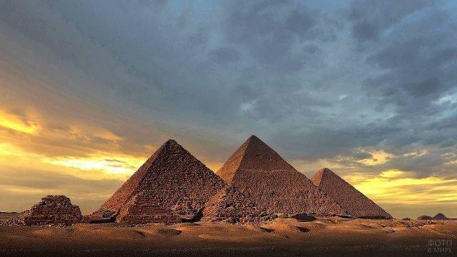 Пирамиды Гизы одна из величайших тайн человечества