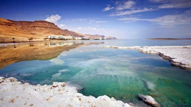 Горизонт над Мёртвым морем