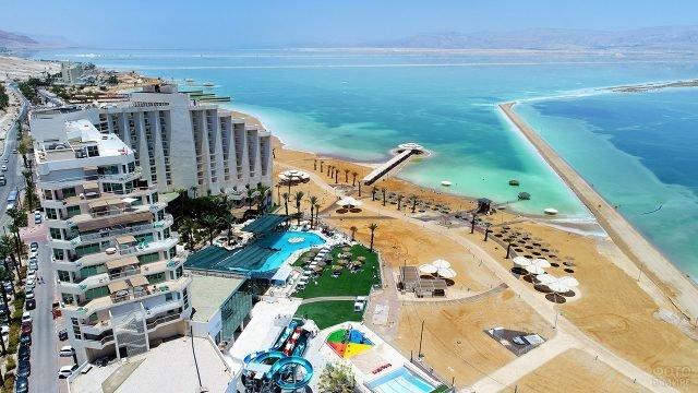 Отельный комплекс в курорте Неве Зоар на Мёртвом море