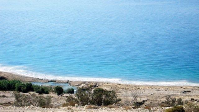 Побережье Мёртвого моря вблизи Неве-Зоар