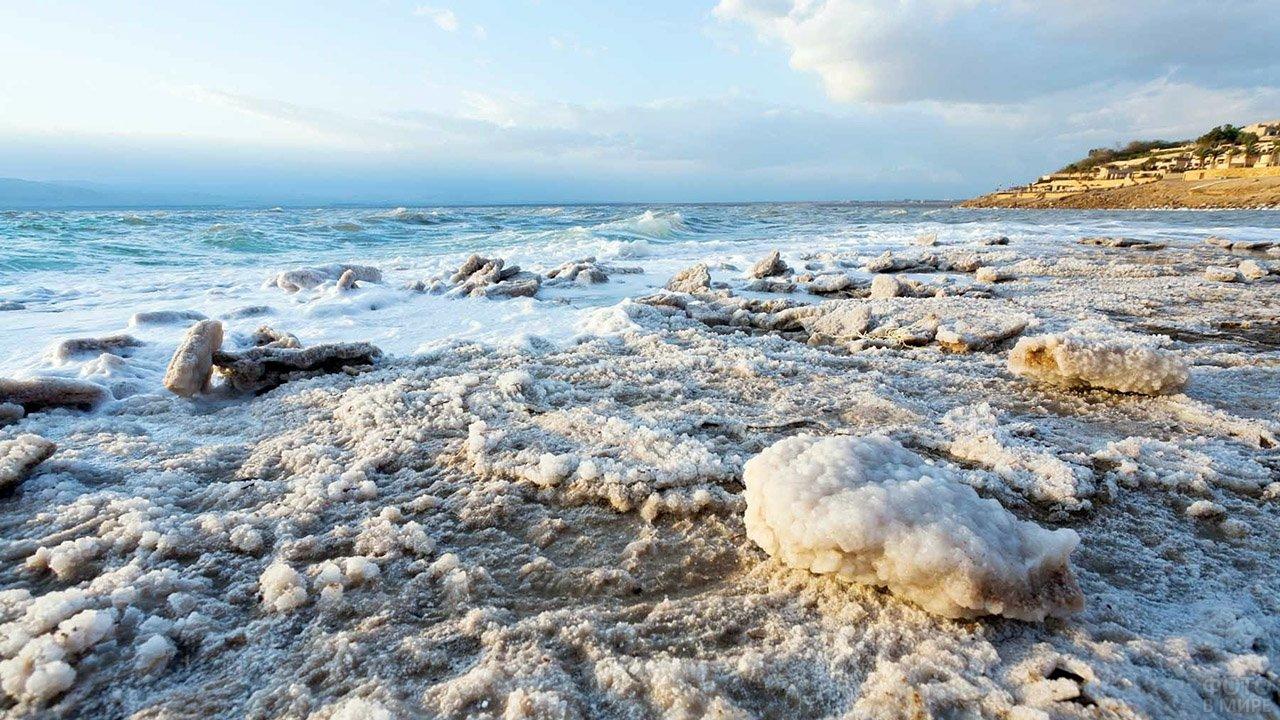 Солёный берег Мёртвого моря