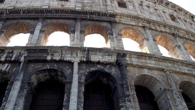 Арки Колизея в Риме