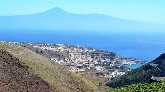Панорама острова Ла-Гомера