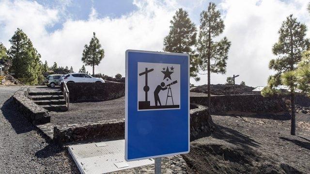 Смотровая площадка для астрономов-любителей на острове Ла-Пальма