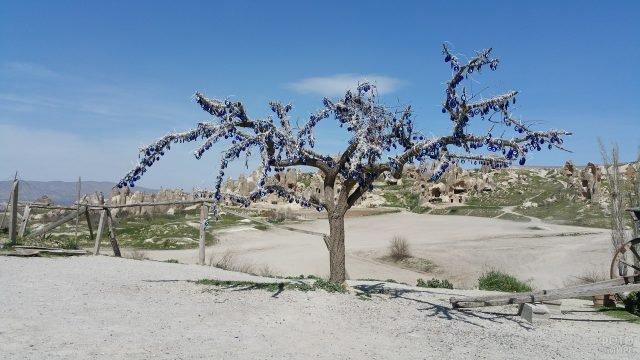 Дерево желаний в долине голубей