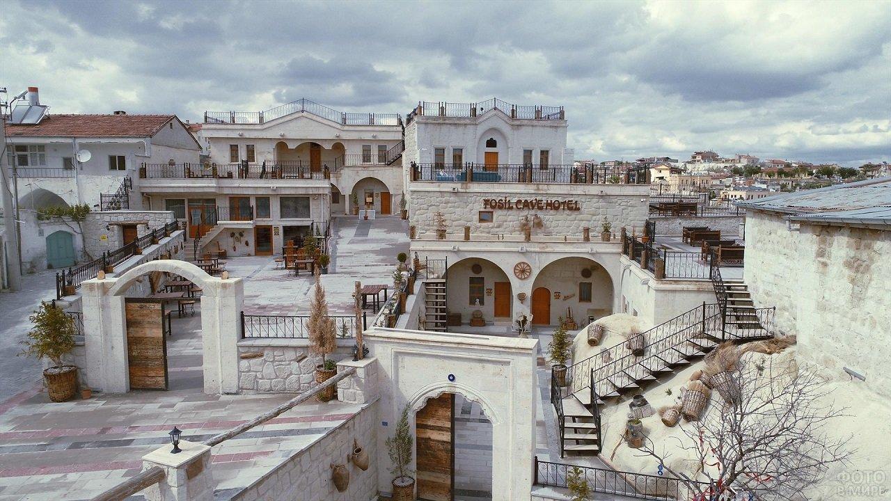 Классический отель в Каппадокии