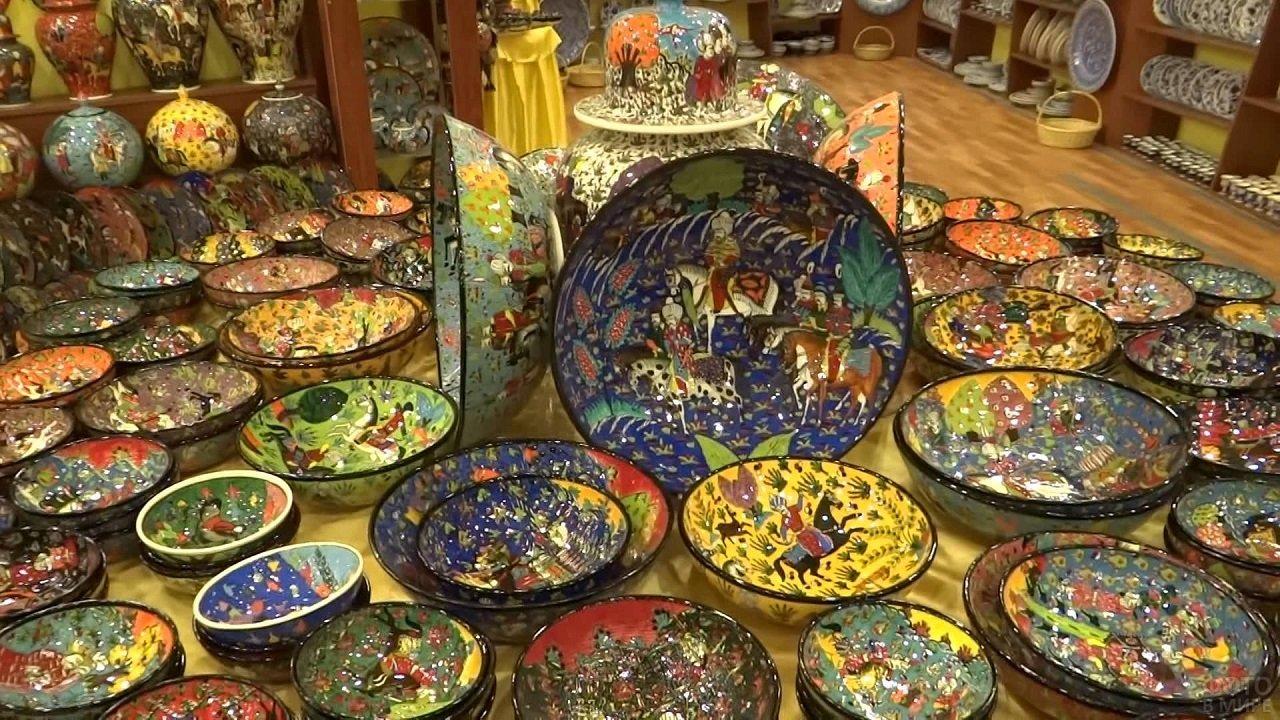 Расписные турецкие тарелки