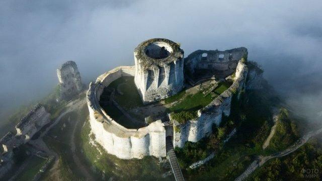 Замок Шато-Гайар - Ричарда львиное сердце