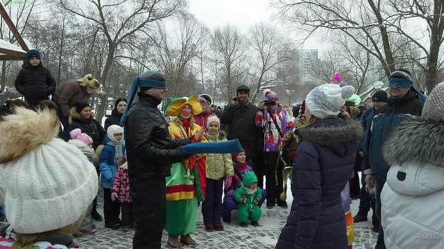 Аттракционы на Прощёное воскресенье в Великом Новгороде