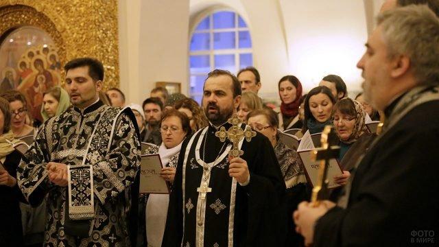 Прощёное воскресенье в Феодоровском соборе в Санкт-Петербурге