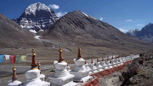 Горы Кайлаш в Тибете