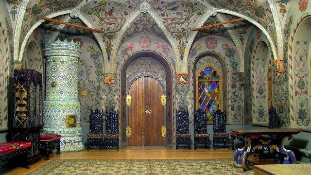 Один из залов Теремного дворца в Кремле