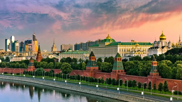 Закат над Кремлём