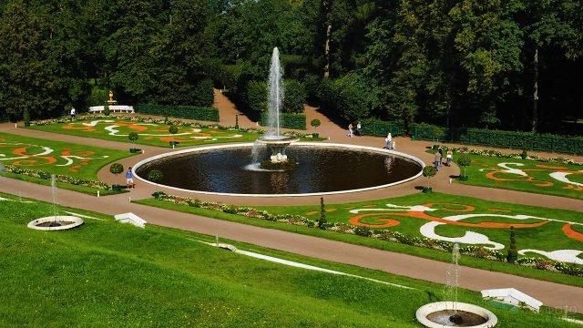 Итальянский фонтан Чаша в Петергофе