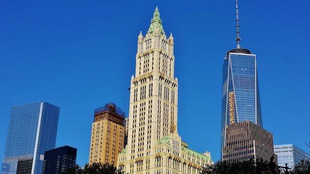 Вулворт билдинг на Манхэттене