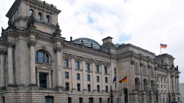 Восточный фасад Рейхстага