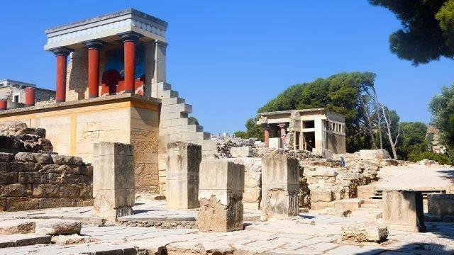 Кносский дворец на острове Крит