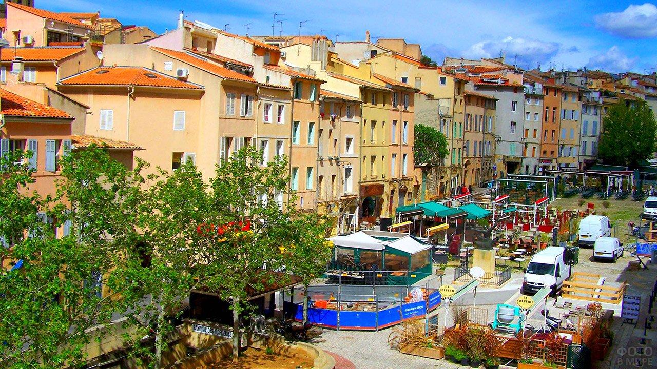 Красочный Экс-ан-Прованс, столица юго-востока Франции