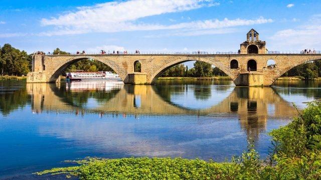 Мост Сент-Безене в Авиньоне
