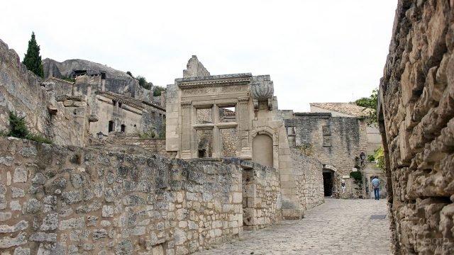 Отель-замок в Ле-Бо-де-Прованс