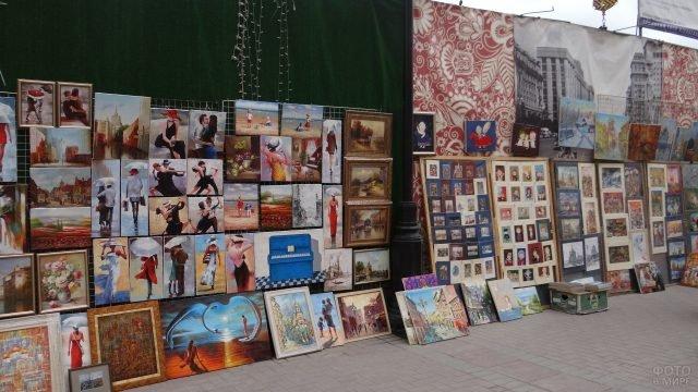 Выставки картин на Арбате