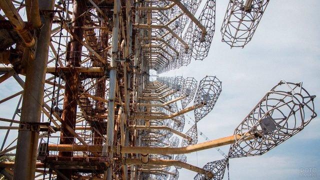 Радиолокационная станция Дуга-1 в Чернобыле