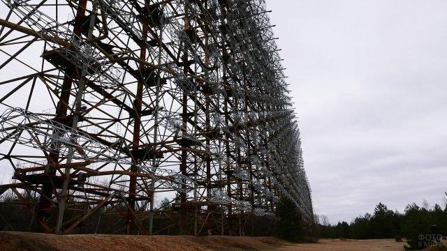 Загоризонтная радиолокационная станция в Чернобыльской зоне отчуждения