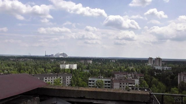 Чернобыльская зона отчуждения Припять