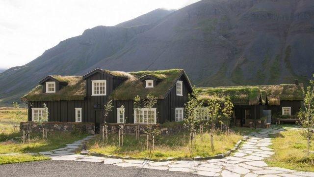 Дом на ферме в Исландии